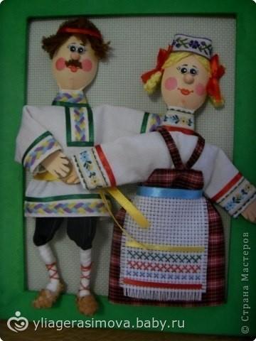 Куклы из пластиковых ложек