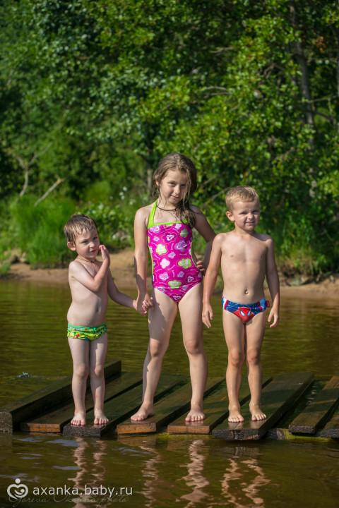 Дети в плавках 14