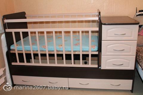 Кровать трансформер бу