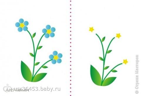 Раскраски пальчиковые для самых маленьких