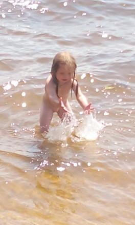 я купаюсь!