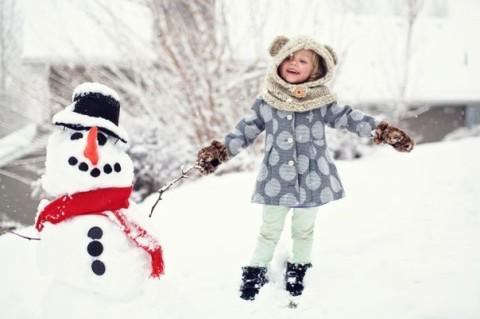 """Фотоконкурс """"Я и друг мой снеговик""""!"""