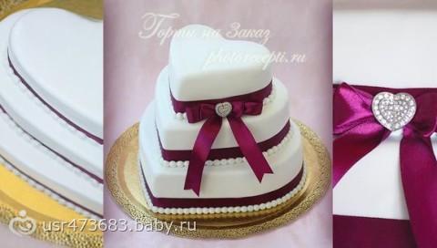 Свадебные торты на 5 кг фото