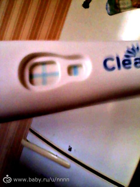 Клеар блю тест на беременность положительный фото