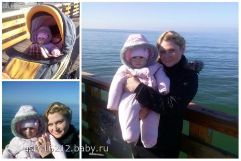 моей куколке-доченьке сегодня 8 месяцов!