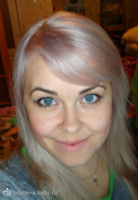 Светлые волосы и черные брови фото