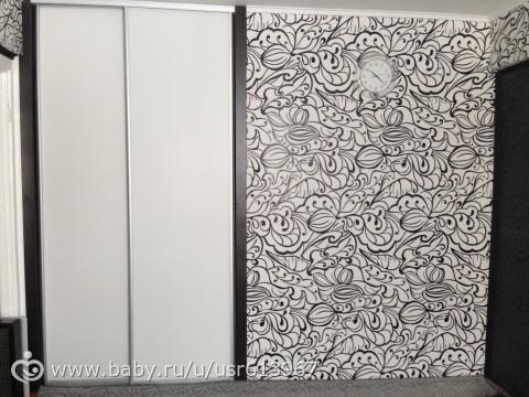бело-чёрные обои фото