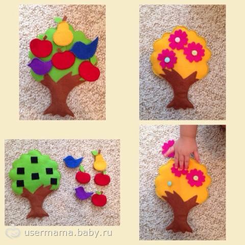 Дерево для мамы своими руками