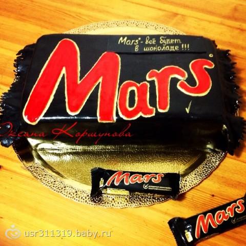 торт марс с фото