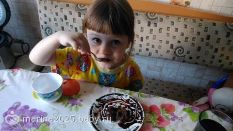 мега шоколадные кексы, тающие во рту)  рецепт +фото --->