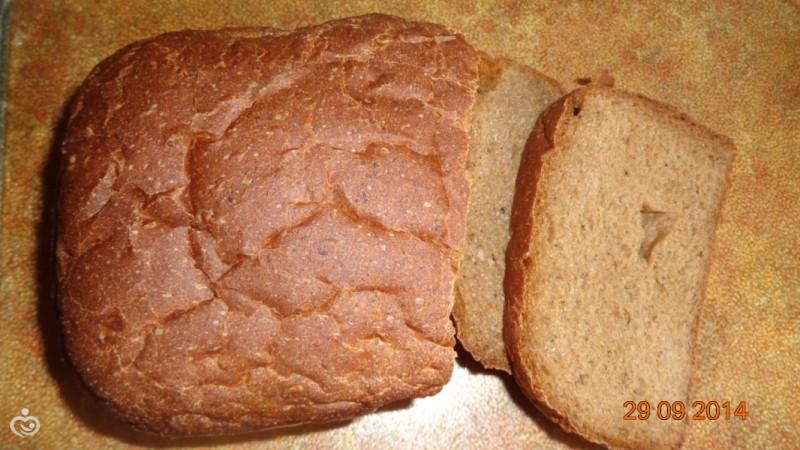 Ржаной хлебушек в хлебопечке