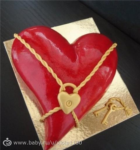 Фото торта на 14 февр и цена