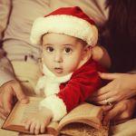 наш маленький Санта!)